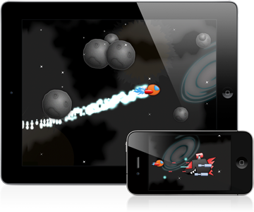 Space Game Starter Kit for iPhone and iPad
